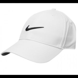 White Nike Legacy91 Dri-fit Hat